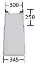 BIRCOsir – kleine Nennweiten nominale breedte 200 AS zinkputten In-line outfall unit with anchoring system 1piece