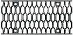BIRCOsir – kleine Nennweiten nominale breedte 200 AS afdekkingen Honeycomb grating I ductile iron