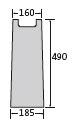 BIRCOplus nominale breedte 100 zinkputten In-line outfall unit
