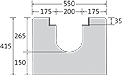 BIRCOsolid Roostergoten nominale breedte 200 afvoergoten Channel elements without internal fall