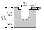 BIRCOsolid Roostergoten nominale breedte 300 afvoergoten Channel elements without inbuilt fall