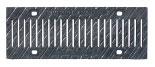 BIRCOsir – kleine Nennweiten nominale breedte 100 afdekkingen Ductile iron slotted gratings - narrow slot