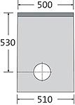 BIRCOsir – kleine Nennweiten nominale breedte 150 zinkputten In-line outfall unit