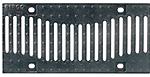 BIRCOsir – kleine Nennweiten nominale breedte 150 afdekkingen Design ductile iron grating 'Wave'