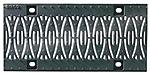 BIRCOsir – kleine Nennweiten nominale breedte 150 afdekkingen Design ductile iron grating 'Ellipse'