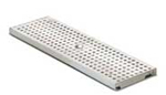 BIRCOlight nominale breedte 100 AS afdekkingen Perforated gratings I circular hole