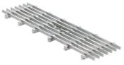 BIRCOlight nominale breedte 100 AS afdekkingen Longitudinal bar gratings I comb