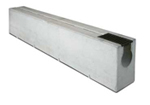 BIRCOsolid Spleetgoten Pfuhler systeem Z type K DN 300 afvoergoten Slot channel elements with 0.5% inbuilt fall class D 400. with hot-dipped ganlvanised solid steel angle for combi-closure system