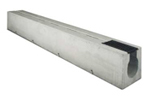 BIRCOsolid Spleetgoten Pfuhler systeem Z type K DN 300 afvoergoten Slot channel elements with 0.5% inbuilt fall class F 900. with hot-dipped solid steel angle for combi-closure system