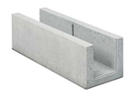 BIRCOcanal nominale breedte 200 afvoergoten Supply channels without angles I with cast-in mounting rails