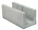 BIRCOcanal nominale breedte 300 afvoergoten Supply channels without angles I without cast-in mounting rails