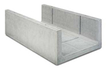 BIRCOcanal nominale breedte 700 afvoergoten Supply channels without angles I cast-in mounting rails
