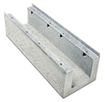 BIRCOcanal nominale breedte 100 afvoergoten Supply channels with angles I without cast in-mounting rails