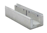 BIRCOcanal nominale breedte 200 afvoergoten Supply channels with angles I cast-in mounting rails