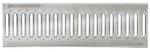 BIRCOtop serie F met zichtbare rand 130 (buitenbreedte) afdekkingen Slotted gratings I clambed grating