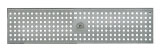 BIRCOtop serie F zonder zichtbare rand 100 (buitenbreedte) Afdekkingen Perforated gratings I circular hole