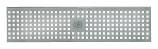 BIRCOtop serie F zonder zichtbare rand 100 (buitenbreedte) Afdekkingen Perforated gratings I square hole
