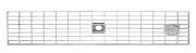 BIRCOtop serie F zonder zichtbare rand 100 (buitenbreedte) Afdekkingen Mesh gratings I MW 30/10