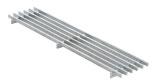 BIRCOtop serie F zonder zichtbare rand 130 (buitenbreedte) Afdekkingen Longitudinal bar gratings