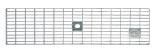 BIRCOtop serie F zonder zichtbare rand 130 (buitenbreedte) Afdekkingen Mesh gratings I MW 30/10