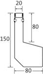 BIRCOtop Serie S Spleetgoten Gotenelementen Channel elements I asymmetrical