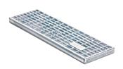 BIRCOtop serie F zonder zichtbare rand 160 (buitenbreedte) Afdekkingen Mesh gratings I MW 30/10