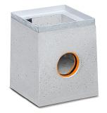 BIRCOsir Puntafwatering zonder nominale breedte zinkputten Outfall unit I 30/30 I 1-piece