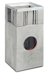 BIRCOsir Puntafwatering zonder nominale breedte zinkputten Outfall unit I 40/40 I 2-piece