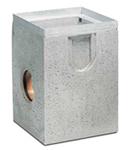 BIRCOsir Puntafwatering zonder nominale breedte zinkputten Outfall unit I 40/40 I 1-piece