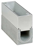 BIRCOspleetopzetstukken nominale breedte 100 Spleetopzetstuk Access covers I 2-piece I material thickness 4 mm