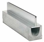 BIRCOspleetopzetstukken nominale breedte 100 Spleetopzetstuk Slotted steel covers I symmetrical I material thickness 1.5 mm