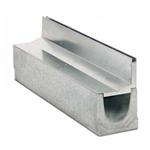 BIRCOspleetopzetstukken nominale breedte 100 Spleetopzetstuk Slotted steel covers I asymmetrical I material thickness 1.5 mm
