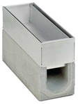 BIRCOspleetopzetstukken nominale breedte 100 Spleetopzetstuk Access covers I 2-piece I material thickness 1.5 mm