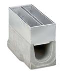 BIRCOspleetopzetstukken nominale breedte 150 AS Spleetopzetstuk Access covers I 2-piece I material thickness 1.5 mm
