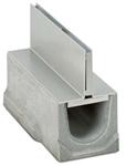 BIRCOspleetopzetstukken nominale breedte 150 AS Spleetopzetstuk Slotted steel covers I symmetrical I material thickness 4 mm