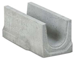 BIRCOspleetopzetstukken nominale breedte 150 AS Benendelen channel elements NW 150 AS for slotted steel covers/access covers I without angle
