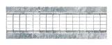 BIRCOtop serie F met zichtbare rand 160 (buitenbreedte) afdekkingen Mesh gratings I clamped grating I MW 30/10 and MW 30/16