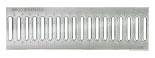 BIRCOtop serie F met zichtbare rand 160 (buitenbreedte) afdekkingen Slotted gratings I clamped grating