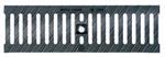 BIRCOtop serie F met zichtbare rand 160 (buitenbreedte) afdekkingen Ductile iron cast slotted gratings