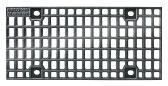 BIRCOsolid Roostergoten nominale breedte 150 afdekkingen Cast mesh gratings