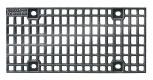 BIRCOdicht nominale breedte 150 afdekkingen Cast mesh gratings