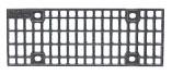 BIRCOprofil 196 (buitenbreedte) Afdekkingen Mesh gratings I ductile iron
